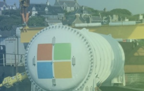 Microsoft sink data centre into the North Sea – to investigate whether it can boost energy efficiency